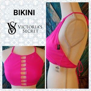 New Victoria's Secret Pink Strappy Bikini Swim Top